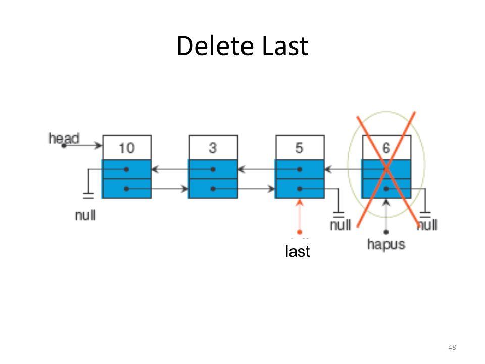 48 Delete Last last