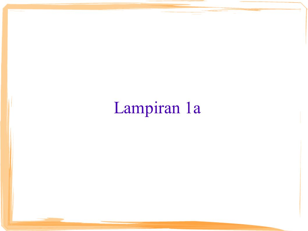 Lampiran 1a
