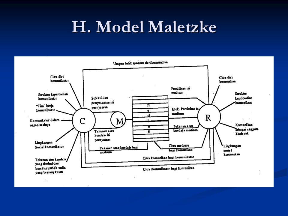 H. Model Maletzke