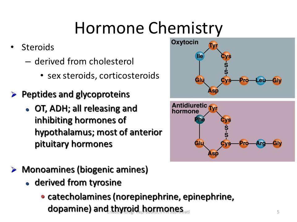 Endocrinologi Reproduksi,Trinil susilawati16 Mekanisme kerja hormon steroid dalam sel Hormon steroid  masuk ke sel melalui membran dan sitoplasma secara mudah karena steroid larut dalam lemak.
