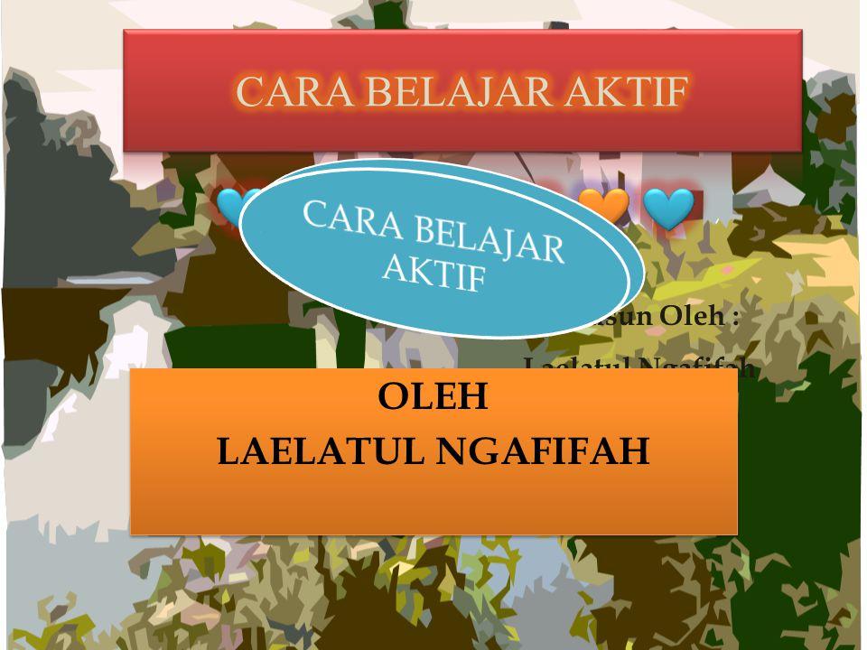 Disusun Oleh : Laelatul Ngafifah 1301412048 OLEH LAELATUL NGAFIFAH OLEH LAELATUL NGAFIFAH