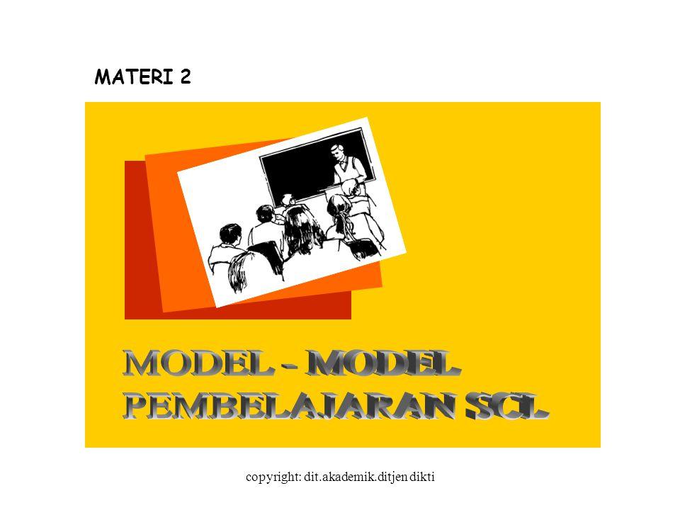 copyright: dit.akademik.ditjen dikti MATERI 2