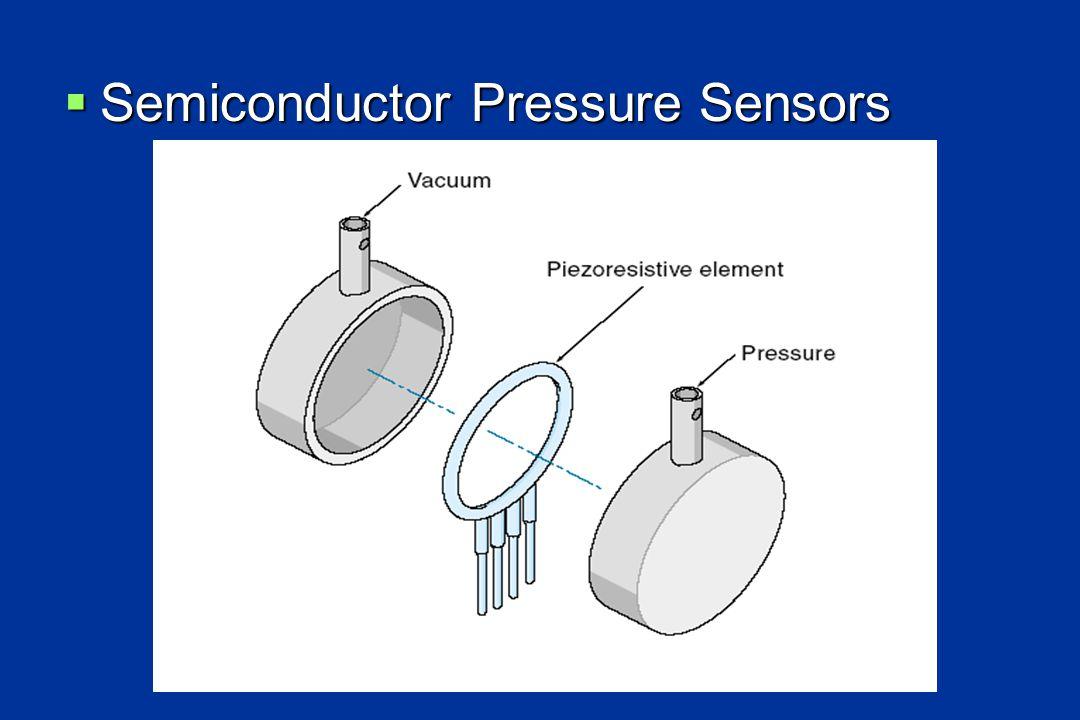  Semiconductor Pressure Sensors