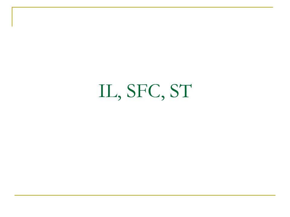 IL, SFC, ST
