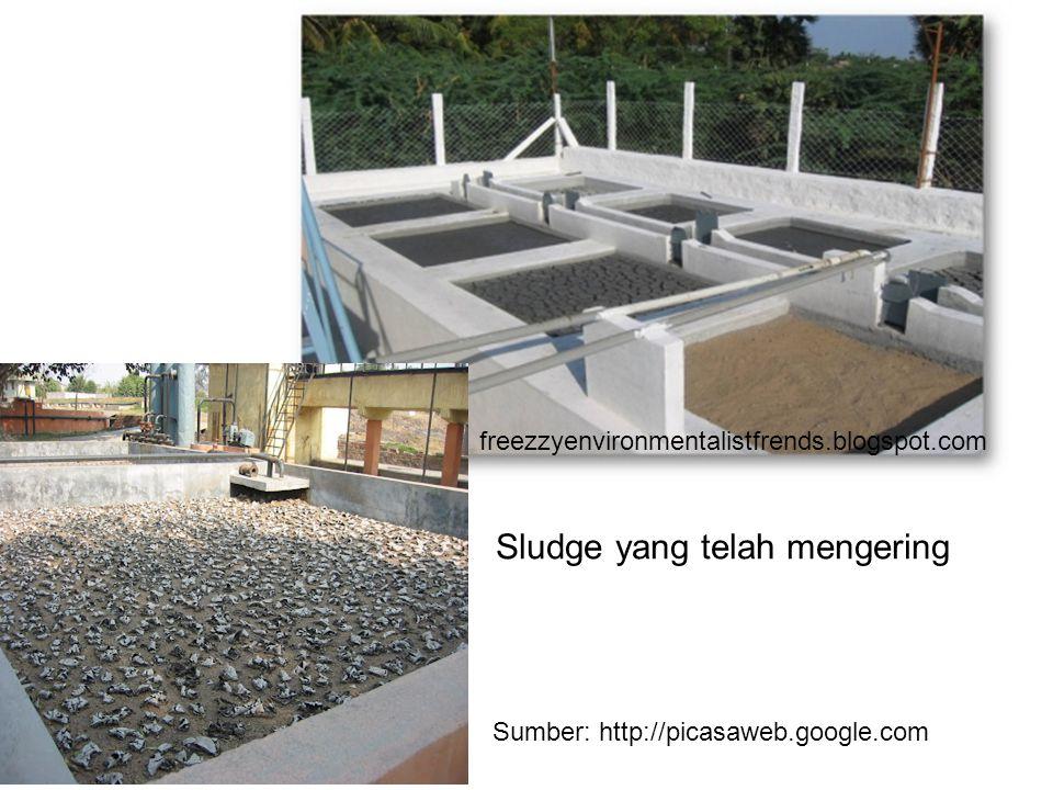 freezzyenvironmentalistfrends.blogspot.com Sumber: http://picasaweb.google.com Sludge yang telah mengering