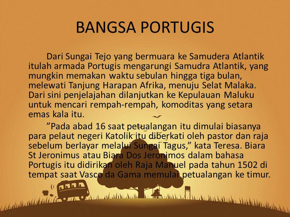 Ada sejumlah motivasi mengapa Kerajaan Portugis memulai petualangan ke timur.