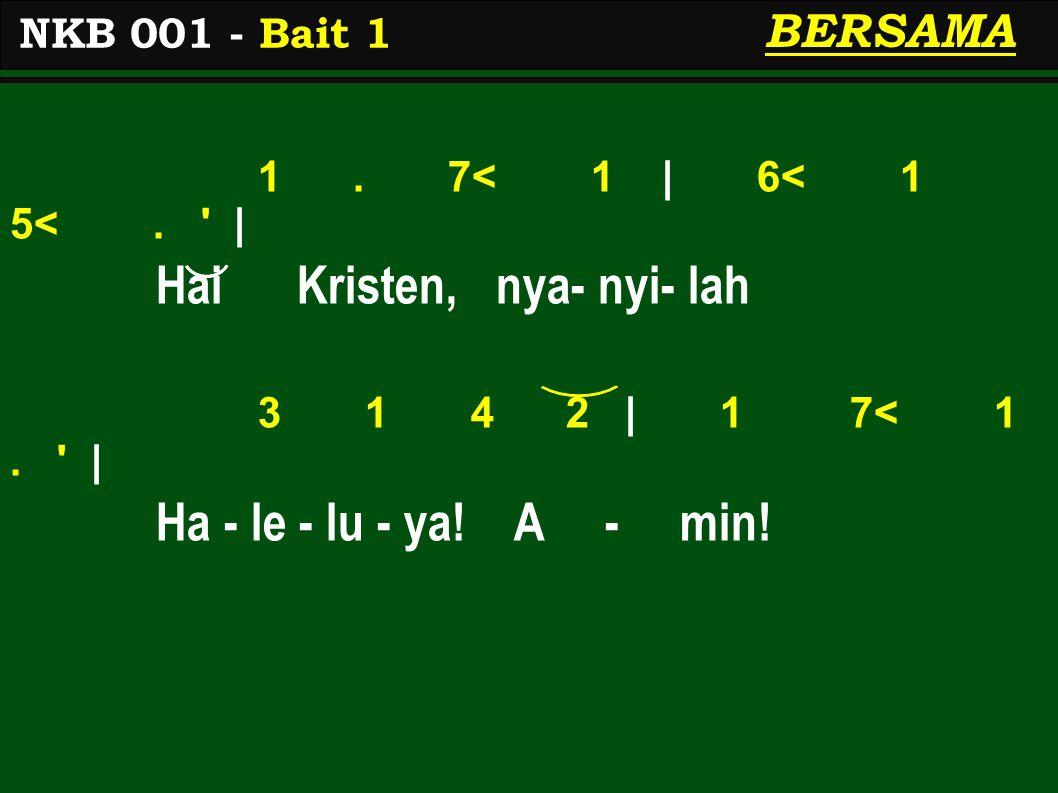 1.7< 1   6< 1 5<.   ber - nya- nyi s'la- ma-nya 3 1 4 2   1 7< 1.