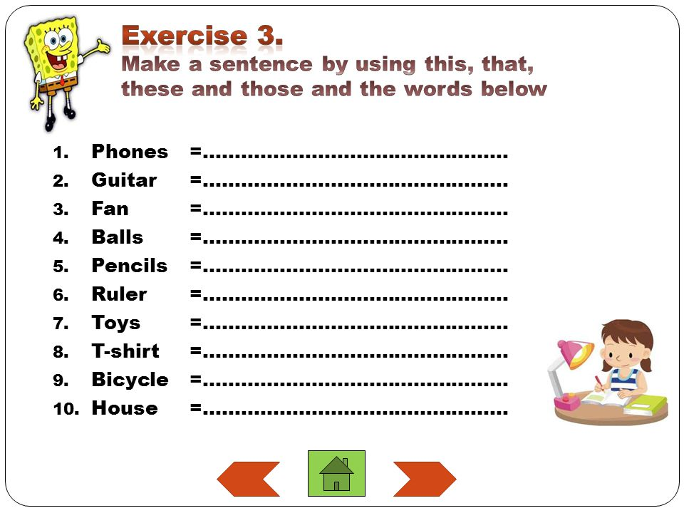 1.Phones=………………………………………… 2. Guitar=………………………………………… 3.