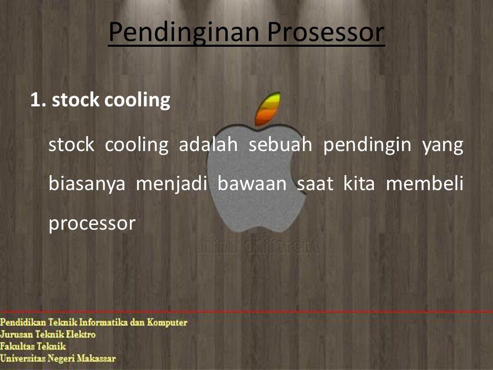 Pendinginan Prosessor 1.