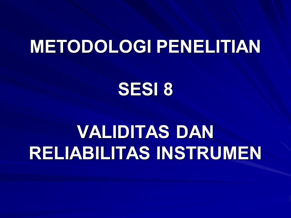 1.UJI KUALITAS DATA 1.1.UJI VALIDITAS DAN RELIABILITAS KUESIONER 1.