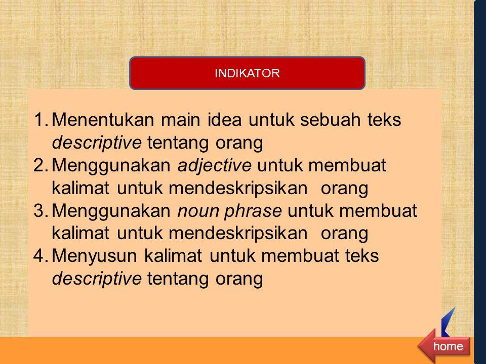 12.2 Mengungkapkan makna dalam monolog pendek sangat sederhana dengan menggunakan ragam bahasa lisan secara akurat, lancar, dan berterima untuk berint