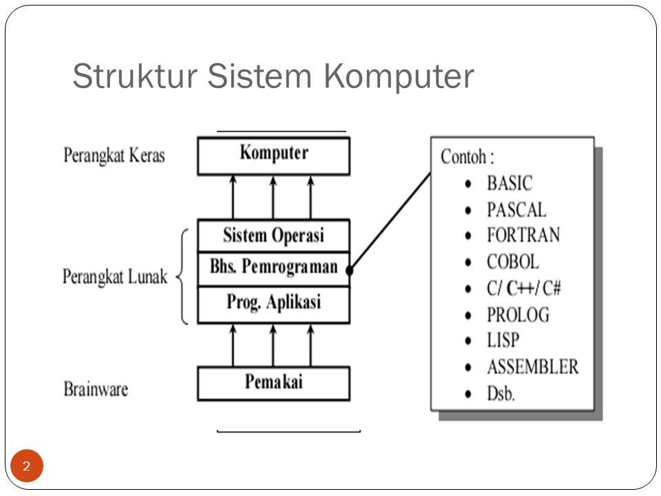 Struktur Sistem Komputer 2