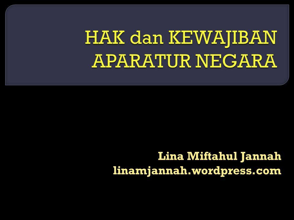 Lina Miftahul Jannah linamjannah.wordpress.com