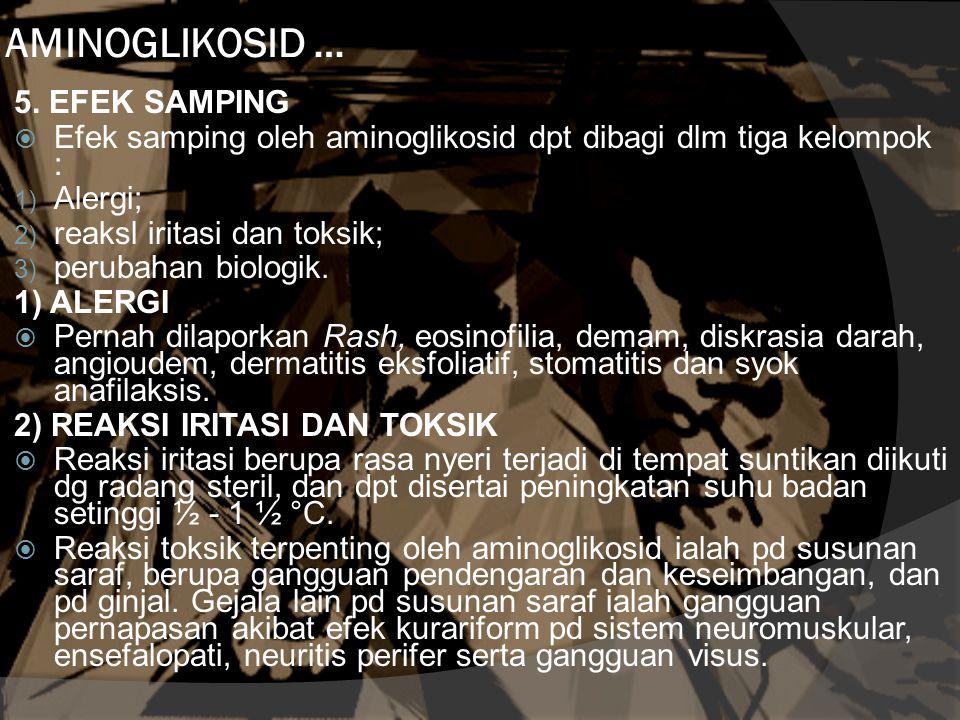 AMINOGLIKOSID … 5.