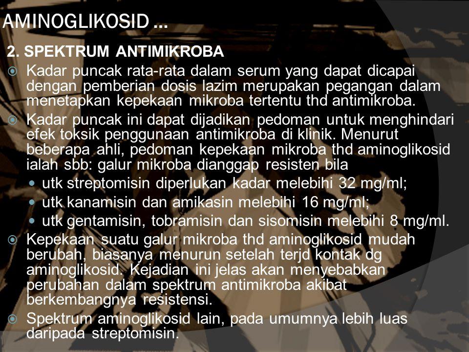 AMINOGLIKOSID … 2.