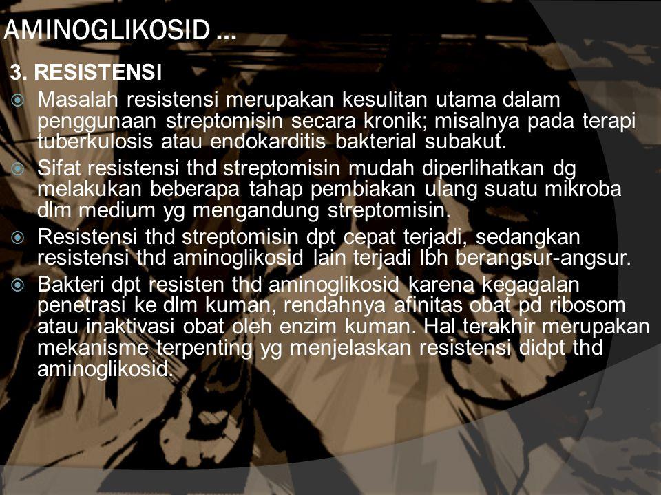 AMINOGLIKOSID … 3.