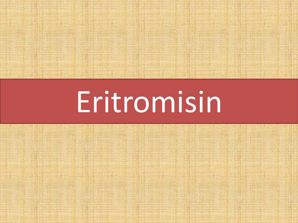 Eritromisin