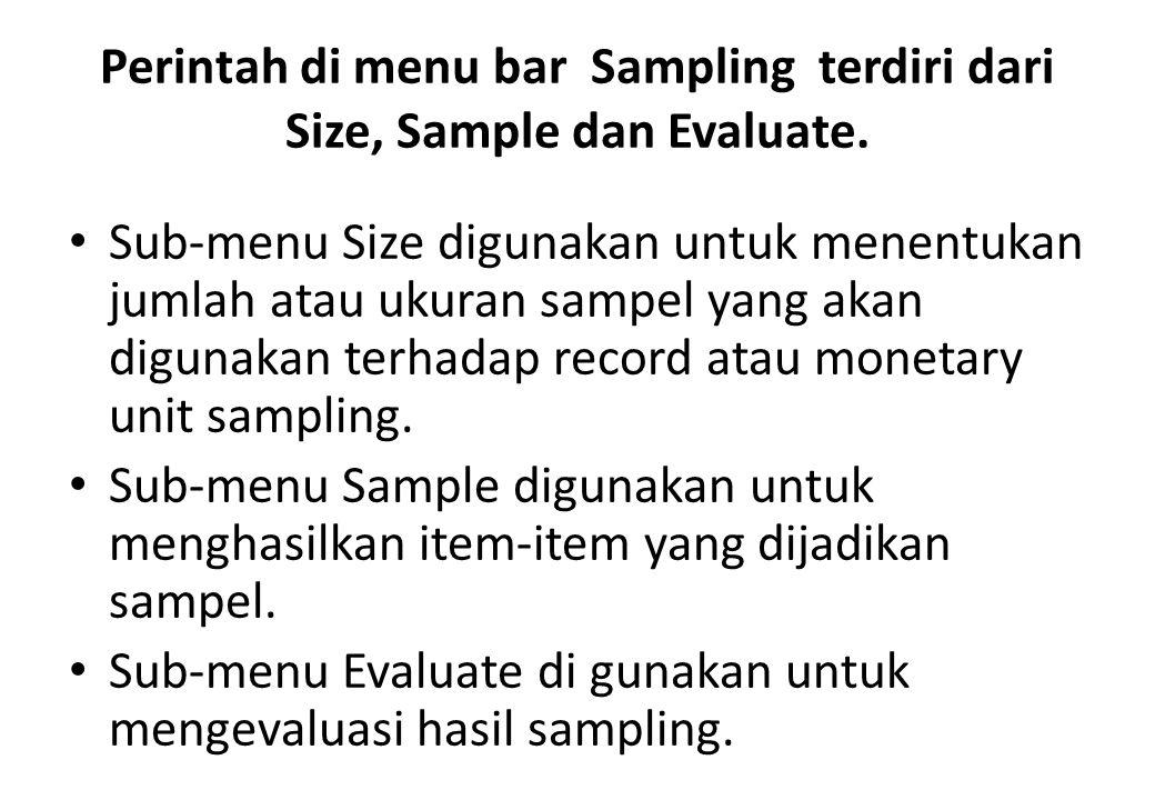 """RANDOM SAMPLING Random Sampling lebih sering digunakan sebagai metode sampling. Di metode ini anda menentukan jumlah populasi """"p"""", jumlah sampel yang"""