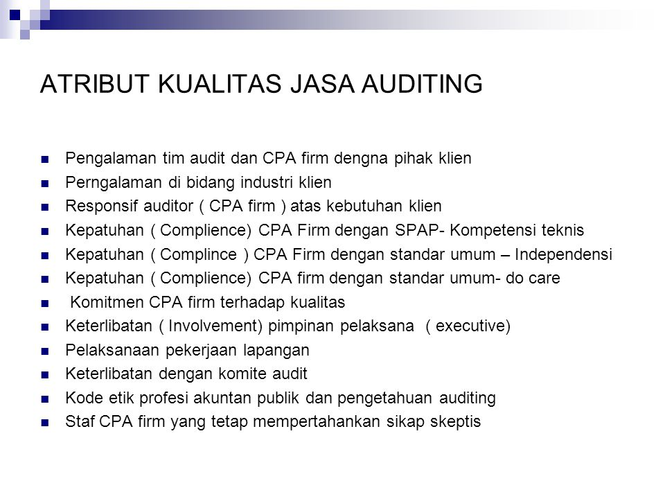 Major Steps In the Systematic Process of Auditing A Planning B Control Testing C Substantive Testing D Audit Report Evaluate Internal Control 1.Study and Test Internal Control 2.Determine the nature, timing and extent of substantive tests to be performed Test Transactions And Balances 1.Examine transactions And balances 2.