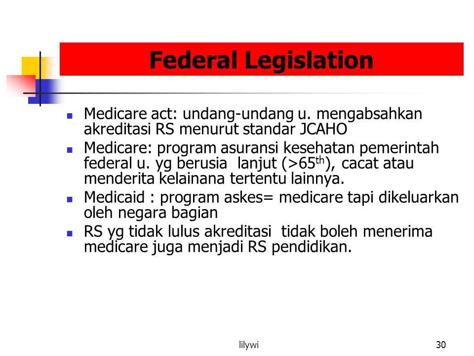 lilywi30 Federal Legislation Medicare act: undang-undang u.