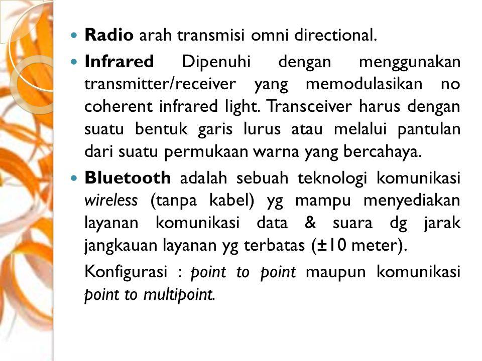Vendor / Manufactures WiMAX Berikut adalah perusahaan pembuat perangkat WiMAX : Motorola InfiNet Wireless Aperto EION Axxcelera