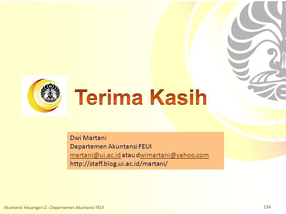 Slide OCW Universitas Indonesia Oleh : Dwi Martani Departemen Akuntansi FEUI Dwi Martani Departemen Akuntansi FEUI martani@ui.ac.idmartani@ui.ac.id at