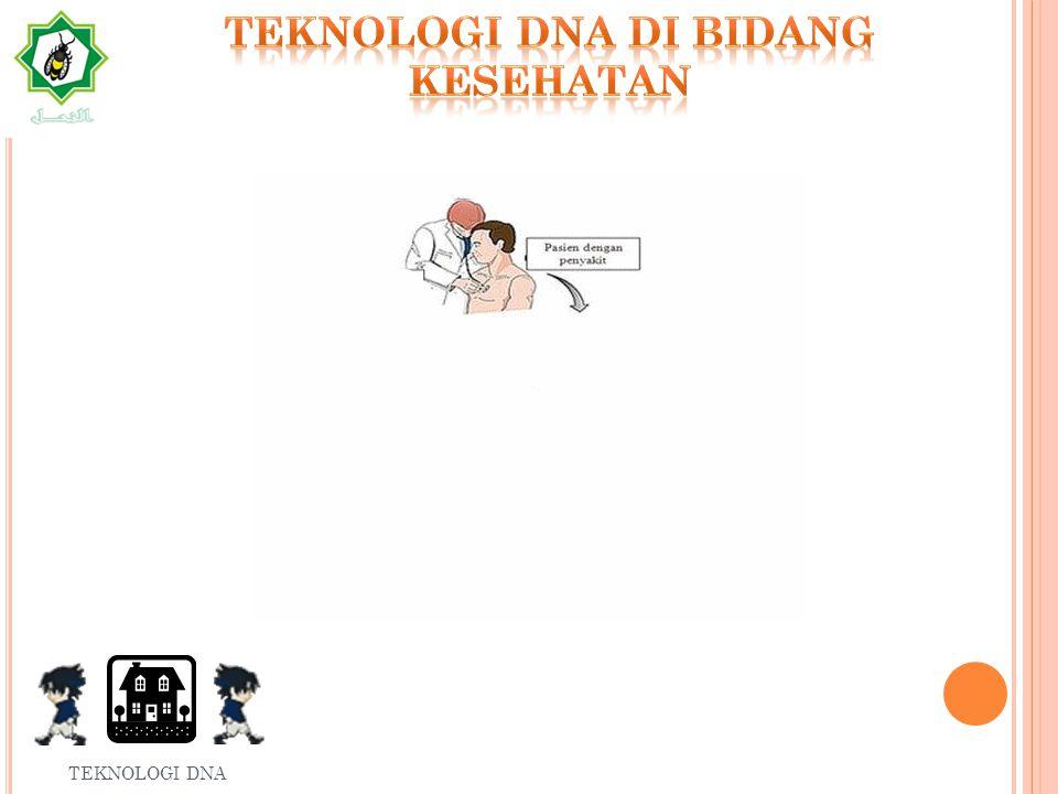 T EKNOLOGI DNA DI BIDANG PERTANIAN TEKNOLOGI DNA