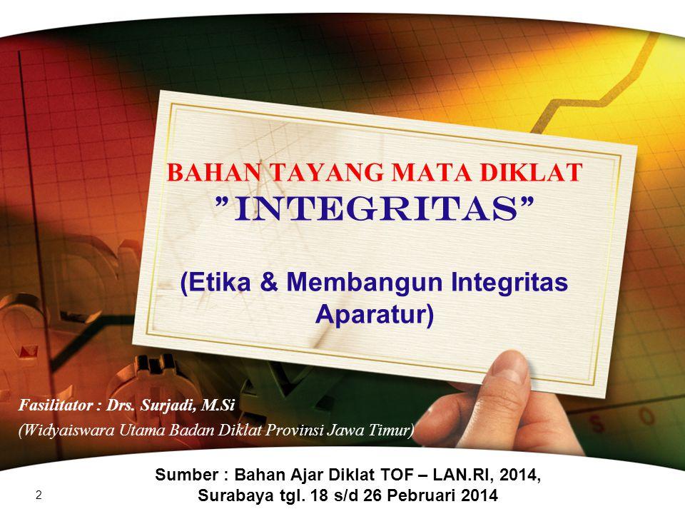 Io = Integritas Organisasi a= alignment/Interaksi A= Accountability C= Competence E= Ethic C= Corruption www.themegallery.com LAN-RI 82 ( NANA RUKMANA D.W.