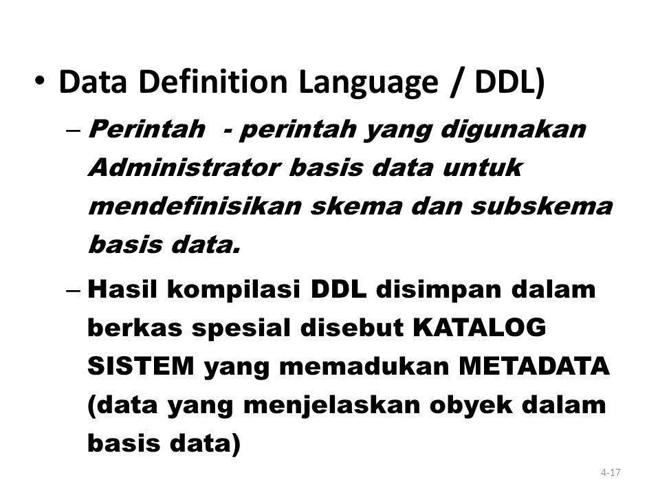 Pendekatan Database DBMS: suatu aplikasi yang membuat para pengguna mampu mendefinisikan dan memanipulasi data, membuat, melakukan pemeliharaan, dan m