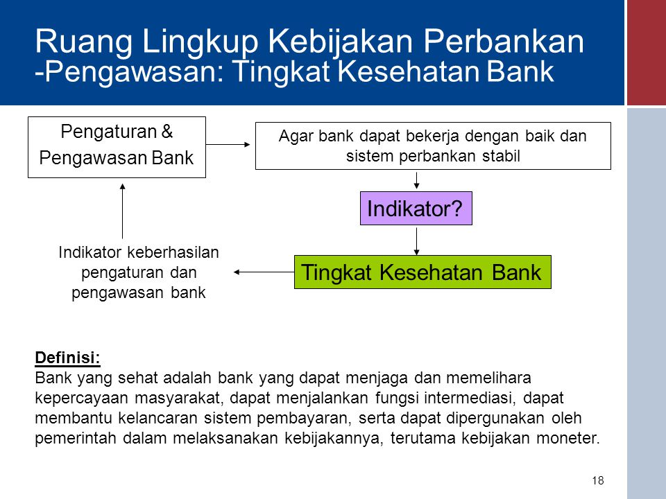 Struktur Pemeriksaan Sumber: Basel Committee for Banking Supervision 19