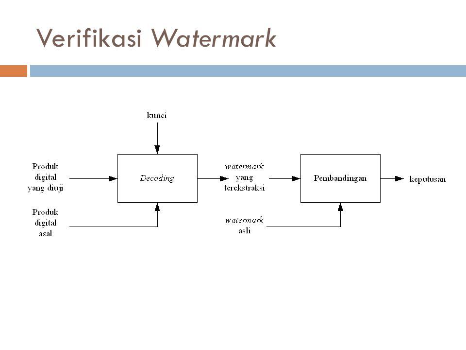 Verifikasi Watermark