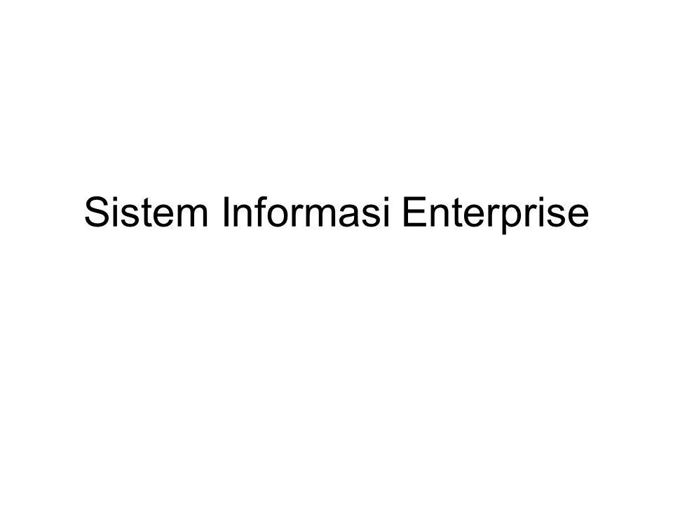 Sistem Informasi Enterprise