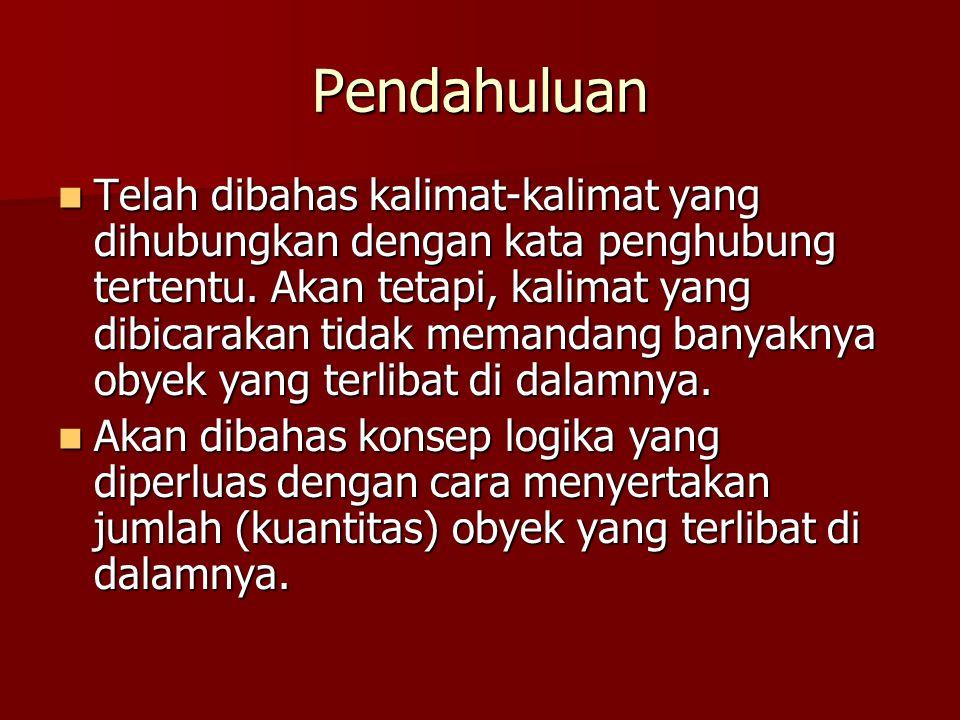 Predikat (1) Dalam tata bahasa, predikat menunjuk pada bagian kalimat yang memberi informasi tentang subjek.