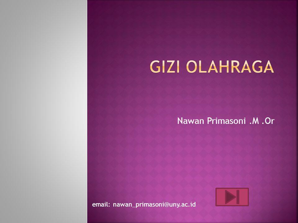 Nawan Primasoni.M.Or email: nawan_primasoni@uny.ac.id