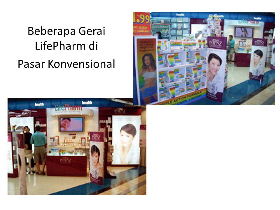 Beberapa Gerai LifePharm di Pasar Konvensional