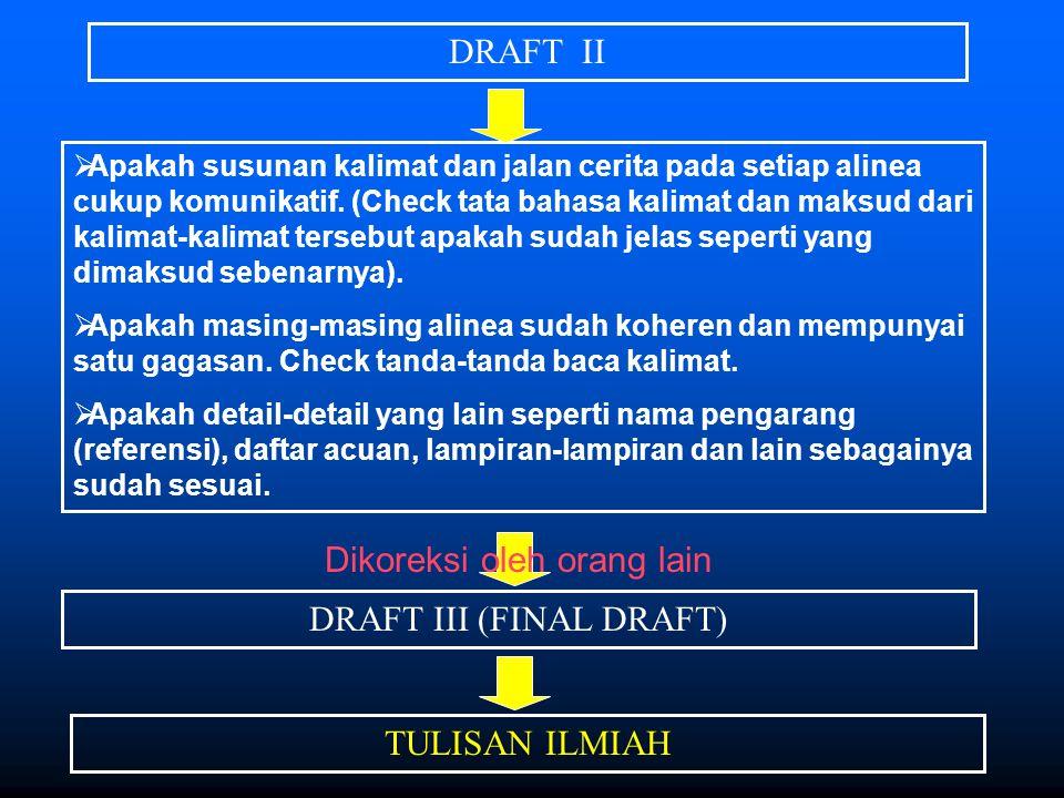 Proporsi Halaman I.PENDAHULUAN 1.Latar Belakang 2.Permasalahan 3.Tujuan 4.Manfaat II.