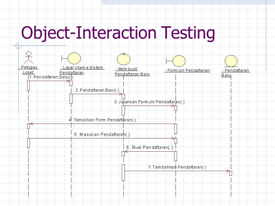 Pengujian Aplikasi Server Volume Testing Stress Testing Performance Testing Data Recovery Testing Data Backup and Restore Testing Data Security Testing