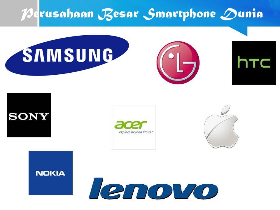Perusahaan Besar Smartphone Dunia