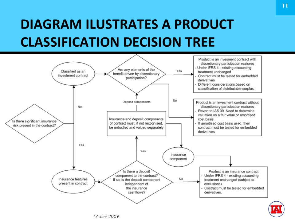 DIAGRAM ILUSTRATES A PRODUCT CLASSIFICATION DECISION TREE 17 Juni 2009 11