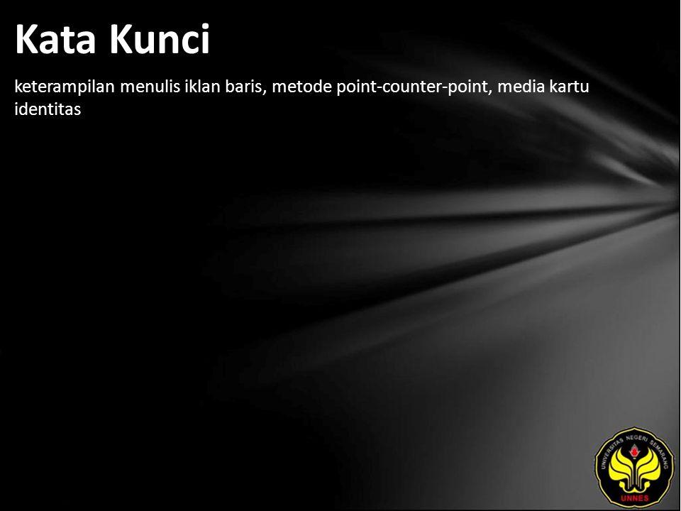 Referensi Achmadi, Muchsin.1988. Materi Dasar Pengajaran Komposisi Bahasa Indonesia.