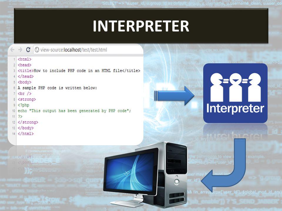 Interpreter INTERPRETER