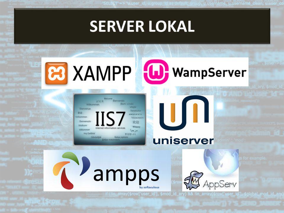 Server Lokal SERVER LOKAL