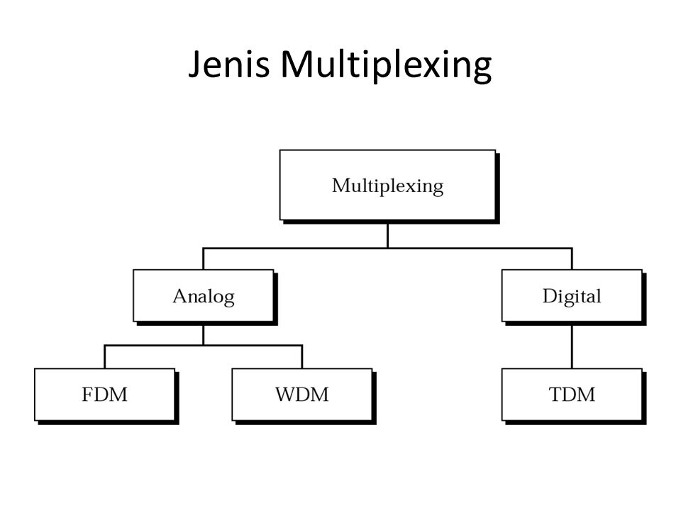 Jenis Multiplexing