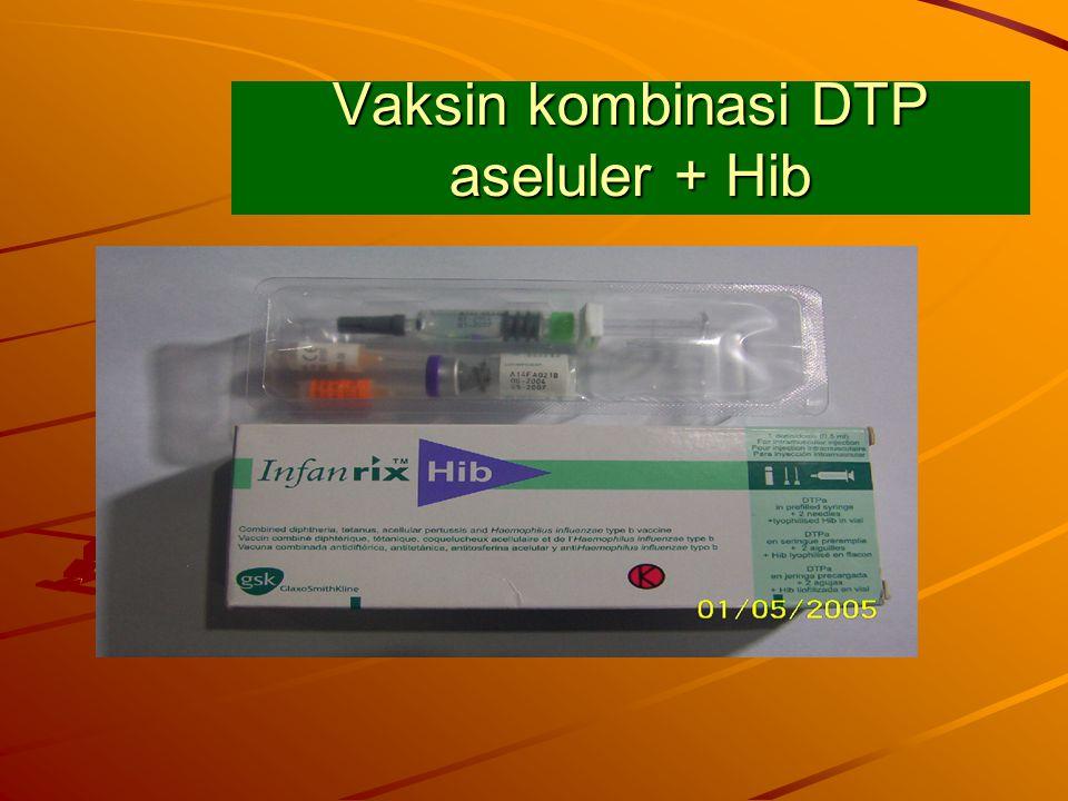 Vaksin kombinasi DTP aseluler + Hib