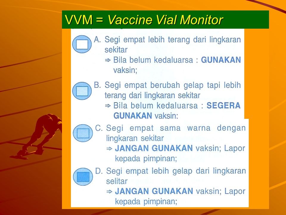 VVM = Vaccine Vial Monitor