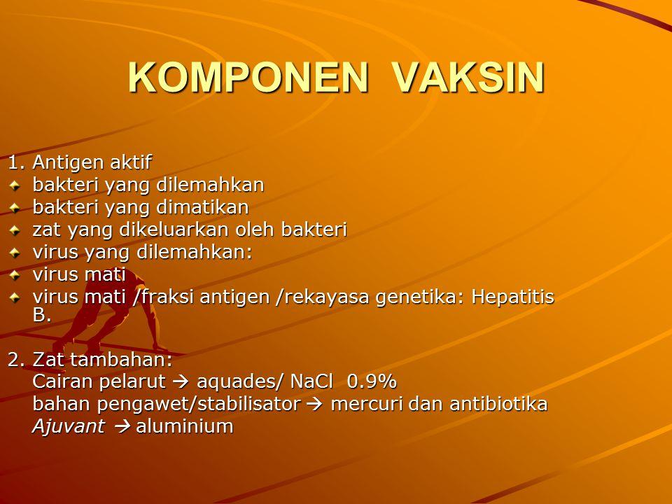 KOMPONEN VAKSIN 1.