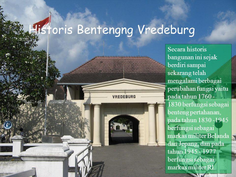 Nama Lain dari Benteng Vredeburg Museum Benteng Yogyakarta, semula bernama