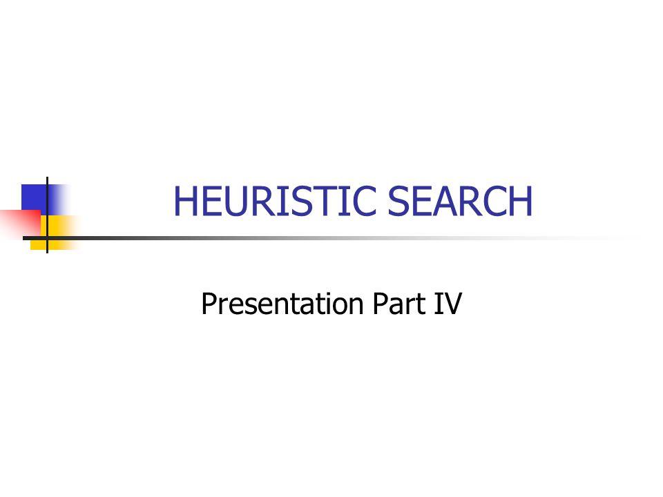 Metode Pencarian Heuristik Pembangkit dan Pengujian (Generate and Test) Pendakian Bukit (Hill Climbing) 1.