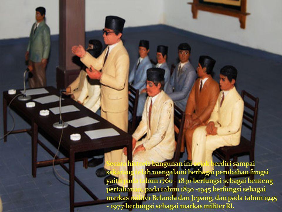 Setelah tahun 1977 pihak Hankam mengembalikan kepada pemerintah.