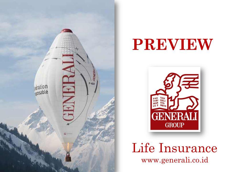 GENERALI Life Insurance Preview iPlan – ARMS - Claims PT Asuransi Jiwa Generali Indonesia Cyber 2 Tower 30 th Floor Jl.